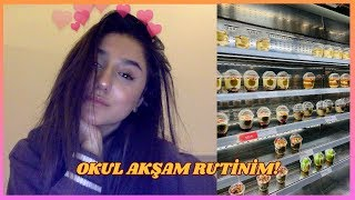 Okul Akşam Rutinim  ! | İrem Çalhan