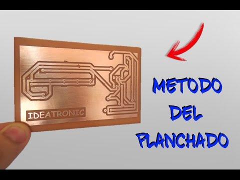 Circuito impreso con el metodo del for Nogosa hormigon impreso