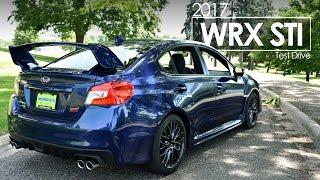 2017 Subaru WRX STI Driving Review | Test Drive | Road Test