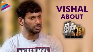 Vishal About Khaidi No 150 Movie  Chiranjeevi  Okkadochadu Movie Team Interview  Tamanna