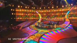 Andy Abraham - Even If (Eurovision 2008 - United Kingdom) Broadcasting by ERT