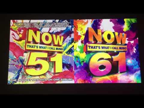 'Now! 51' Cover Art vs. 'Now! 61' Cover Art