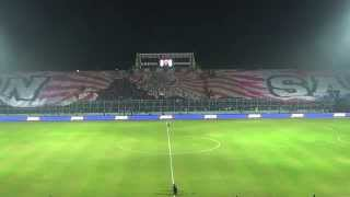 Biggest Flag AREMA @ Kanjuruhan Stadium #OneIncredibleBlue (Arema Vs Persib ; 25 Mei 2014)
