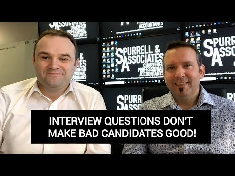 Interview Questions Don't Make Bad Candidates Good