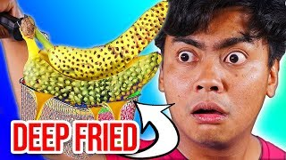 10 Foods You Can Deep Fry Hack - Experiment