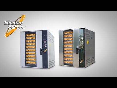 video 1, Four électrique ventilé 10 niveaux 400x800
