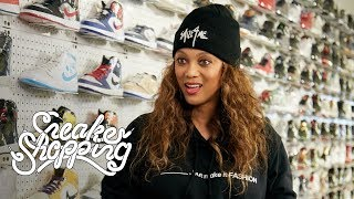 Tyra Banks Goes Sneaker Shopping With Complex