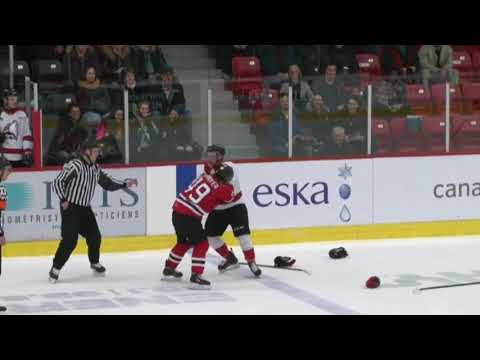 Mathieu Gagnon vs. Edouard Cournoyer