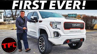 Rolling GMC Thunder! If You Love Harley-Davidson, Youll LOVE This 2020 Sierra 1500 Special Edition!