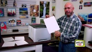 Conde's Ricoh SP C250DN Laser Printer for Transfer Paper -