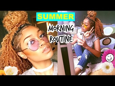 My Summer 2015 Morning Routine   Bri Hall