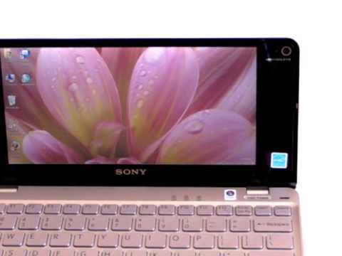 Sony VAIO P Series with SSD Video Review