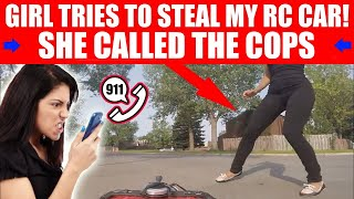 "WOMAN TRIES TO STEAL ""HENRY THE RC CAR""!"