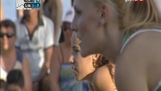 Melis Ece - Selin / Burcu - Fatma Marmaris Nestea Pro Beach Tour Etabı 2014