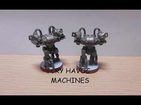 Painting Cry Havoc Machines