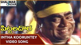 Pittala Dora Movie || Intha Koorunteyyemmo Video Song || Ali, Indraja || Shalimarcinema