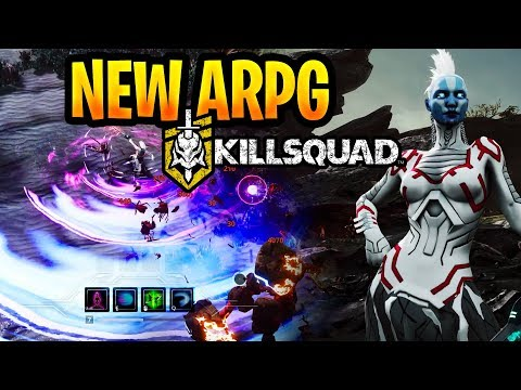 Kill Squad New Sci-Fi Action RPG Gameplay First Impressions / Thoughts