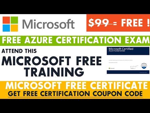 Microsoft Free Certificate | Microsoft Certified Azure Fundamentals ...
