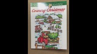 Country Christmas - Creative Haven Flip Through