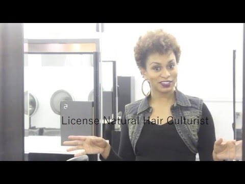 Natural Hair and Braiding Program: Get your License - YouTube