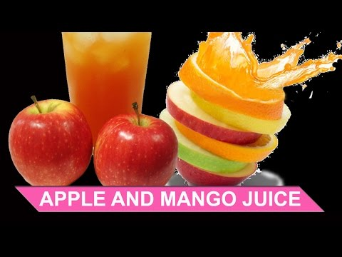 Video APPLE AND MANGO JUICE | STREET FOOD | JUICING RECIPE VIDEO | JUICE