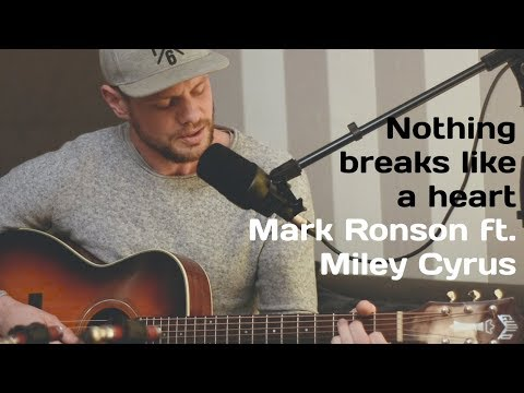 Nothing Breaks Like A Heart - Mark Ronson Ft. Miley Cyrus (Cover By VONCKEN)