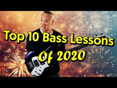 Top 10 Bass Lessons Of 2020!
