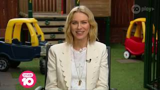 Naomi Watts Prepares For Her Exciting New Roles | Studio 10