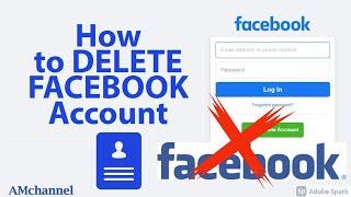 How to delete Facebook account   Delete unused or duplicate Facebook Account