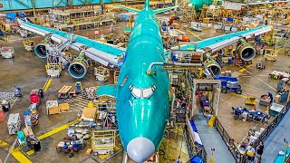 Amazing Modern Boeing Aircraft Manufacturing & Assembling Process. Incredible Production Technology