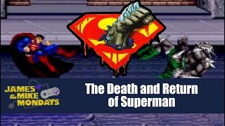 The Death and Return of Superman (SNES) James & Mike Mondays