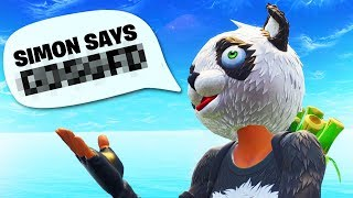 Simon Says In Fortnite