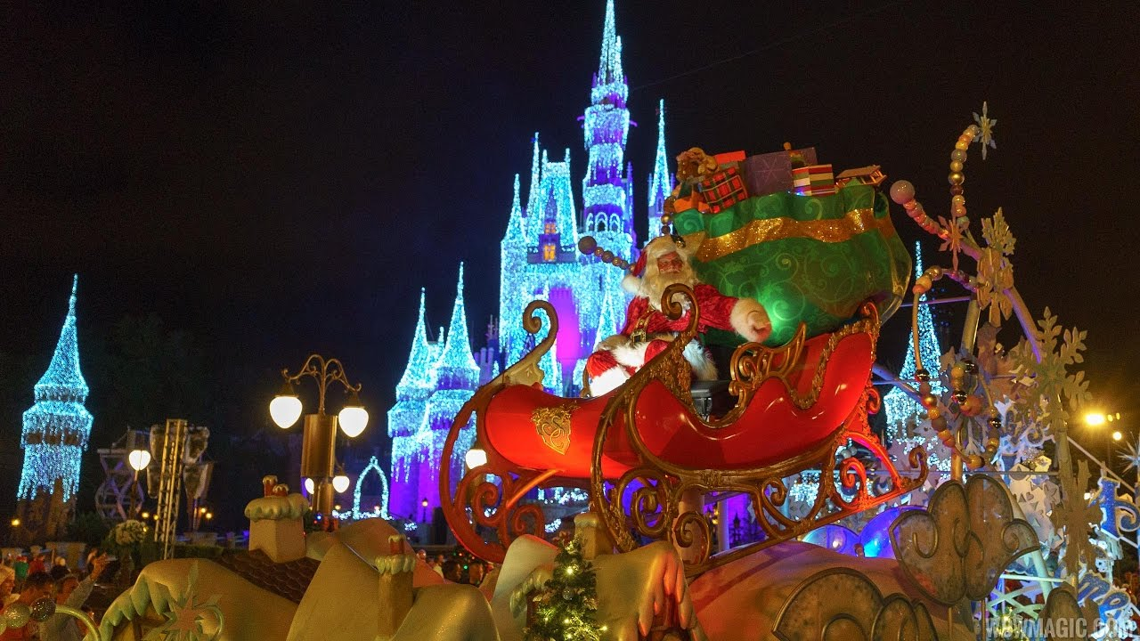 Mickey's Once Upon A Christmastime Parade 2016