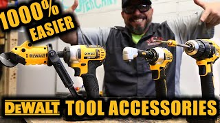TOP 3 DeWALT Power Tool Accessories That Will Make YOUR LIFE 1000% EASIER!