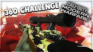 360 Before Every Kill Challenge - Kar98 Modern Warfare Gameplay Commentary 7
