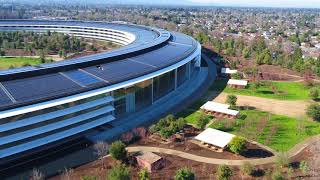 APPLE PARK: January 2018 Construction Update