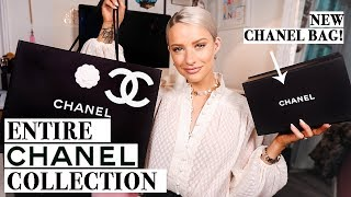 CHANEL BAG UNBOXING + My CHANEL COLLECTION