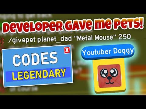 New Pet Code In Dashing Simulator Roblox Planet Milo Gaming - exclusive legendary pet slaying simulator codes roblox