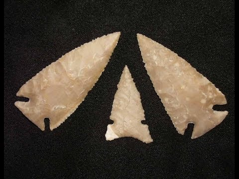 Download Making Arrowheads From Texas Flint HD Mp4 3GP Video and MP3
