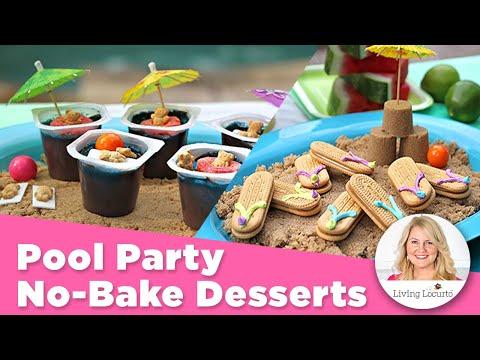 Pool Party Recipes   Flip Flop Cookies   Fun Kid Party Food