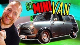 Der neue Gast im MUSEUM! - 80' Mini Van - Ein geräumiger Giftzwerg!