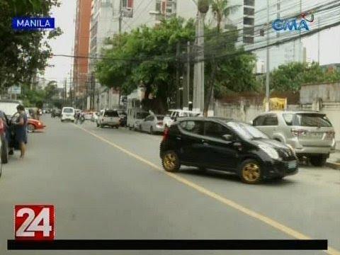[GMA]  24 Oras: Ilang ilegal na nakaparada sa kalsada at mga nagtitinda, nagpasikip na naman sa kalsada
