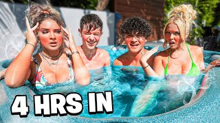 LAST TO LEAVE HOT TUB WINS $10,000