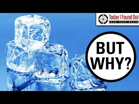Why are Some Ice Cubes Clear and Others Cloudy?