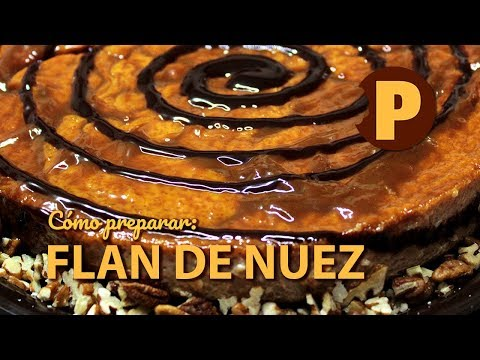 Vídeo Flan de Nuez