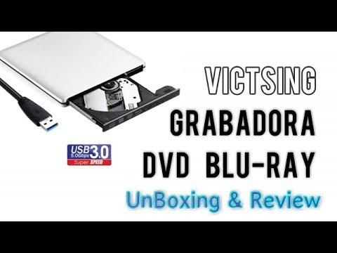 Victsing  UJ-272 Grabadora Externa Blu-ray USB 3.0 DVD CD RW | UnBoxing + Review en Español