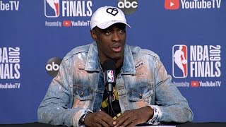Pascal Siakam Postgame Interview - Game 1 | Warriors vs Raptors | 2019 NBA Playoffs