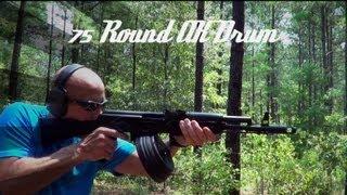 Romanian 75 Round AK47 Drum Top Loading Review HD