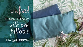 DIY Eye Pillow | We're Here For You Wednesday