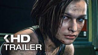 RESIDENT EVIL 3 Trailer (2020) Remake